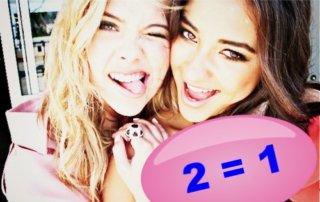 2 = 1 VRIENDINNEN AKTIE