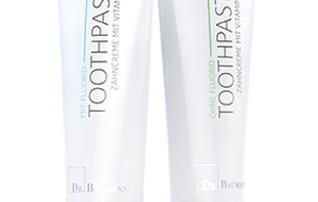 Fluoride vrije natuurlijke tandpasta van Dr. Baumann kopen