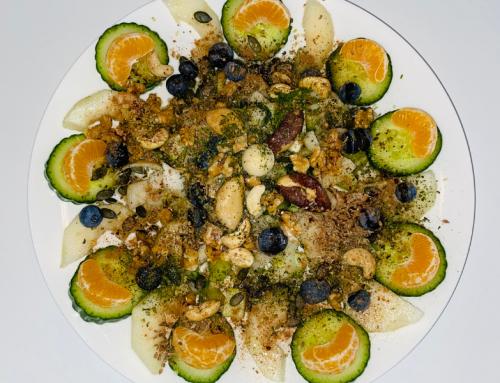Groenten fruit ontbijtje
