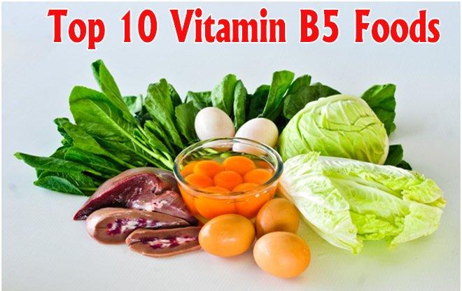 Huidklachten bij tekort aan Vitamine B 5