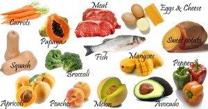 Huidproblemen veroorzaakt door tekort aan vitaminen