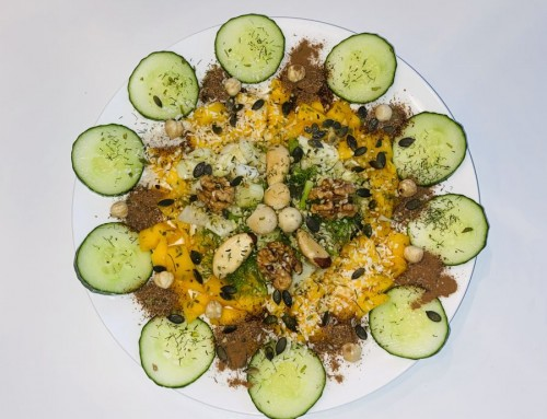 Mango venkel salade