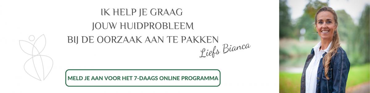 7-daags online programma De Gezonde Huidreis
