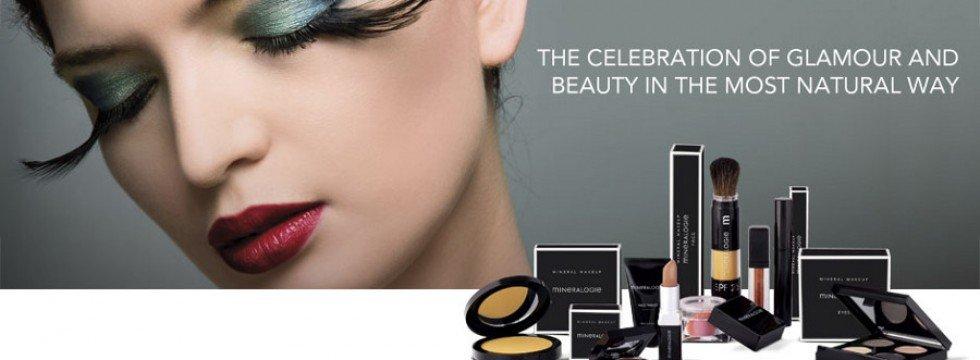 Minerale make-up van MINERALOGIE natuurlijke cosmetica