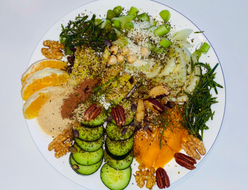 Salade met zeekraal