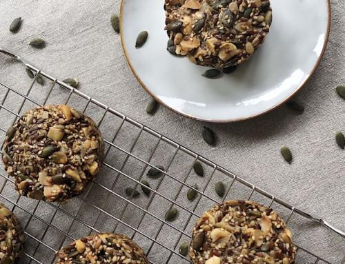 Triggervrije noten zaden muffin