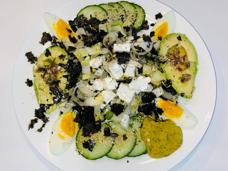 Venkel witlof salade