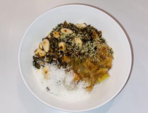 Warm groenten ontbijt Ayurveda Vata