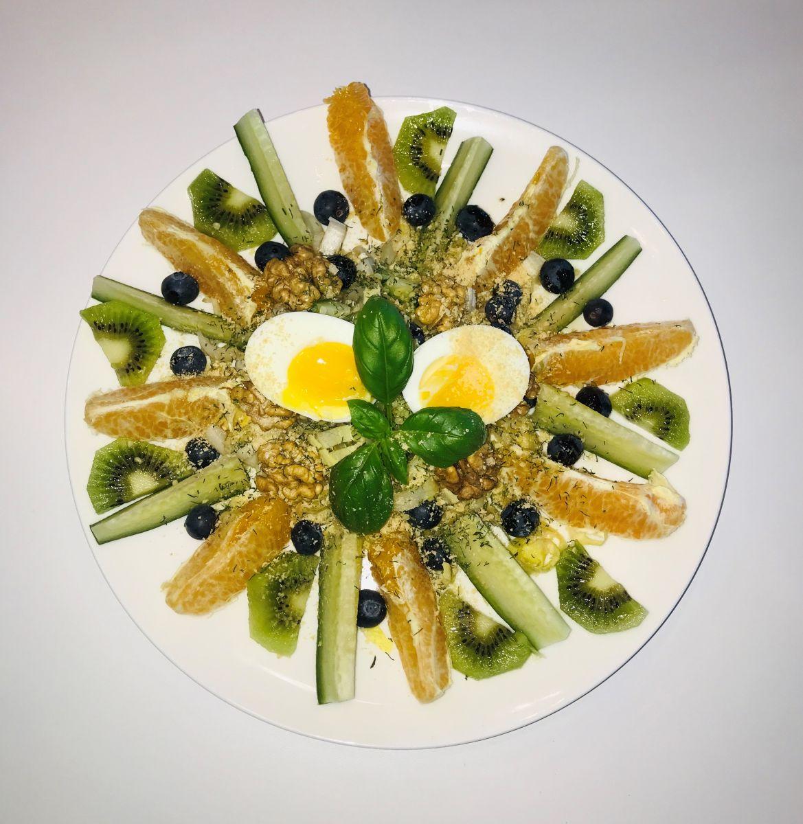 Witlof fruit salade