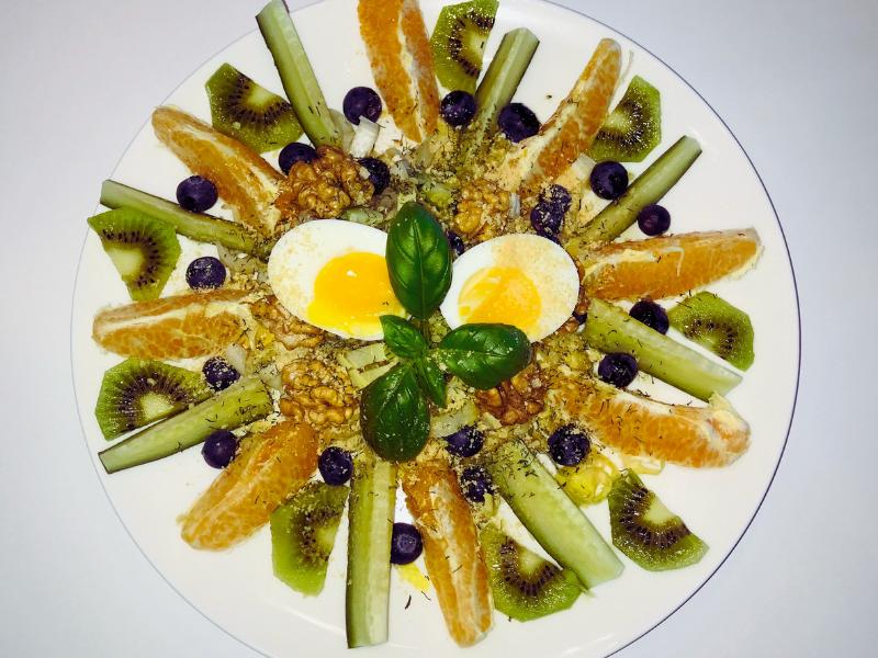 Witlof fruitsalade
