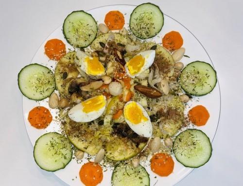 Witlof noten salade