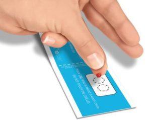 Eqology vingerprik test voor het meten van je OMEGA-3